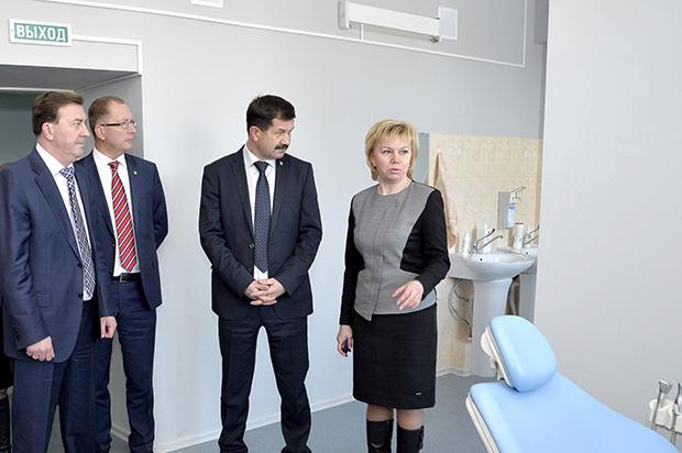 Открытие поликлиники