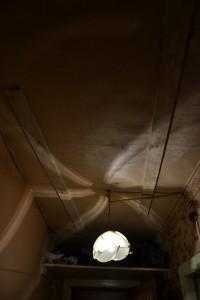 забитый потолок