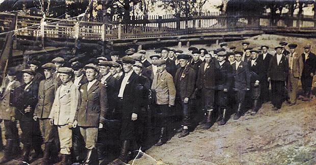1941 Фото призывников