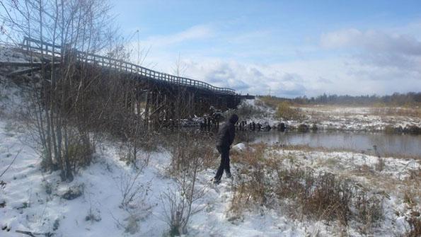 мост через р Летка