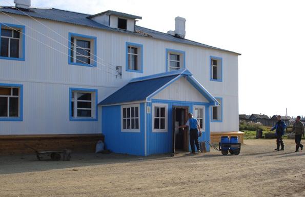 новый дом
