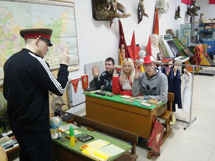 в музее советского детства (1)