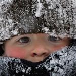 Сельские школьники трясутся от холода
