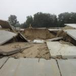 Дождь проинспектировал качество укреплений берега Сысолы