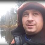 Рыбак поймал медведя в видеообъектив и поместил в сеть