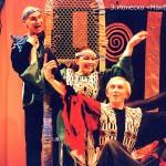На сценах и в подвалах бушевали шекспировские страсти