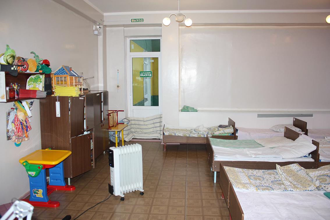 В детском саду дотапливать приходится радиаторами