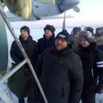 Самолет Минобороны высадил в Воркуте «звездный десант»