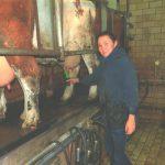 Девушка из Коми доила хозяйских коров в Баварии