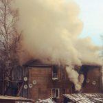 Дом в Лесозаводе, возможно, подожгли