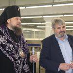 Архиепископ освятил яйцо, производимое «Зеленецкой»