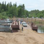 Мост, к радости сельских жителей, соединил два берега Вычегды