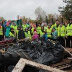Сотрудники СЛПК освободили от мусора  75 гектаров береговой зоны Вычегды