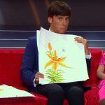 6-летняя сыктывкарка Кира Лажанева учила Максима Галкина китайской живописи