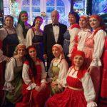 Якубовичу подарили песню и зеленецкую колбасу